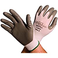 Polyco Matrix F Grip Grey Glove, Size 8