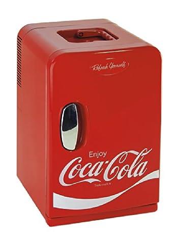 Mini-réfrigérateur / mini-bar Ezetil Coca-Cola MiniFridge 15 12 V, 230 V rouge 15 l EEK=A+