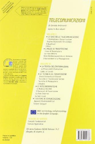 Telecomunicazioni. Per le Scuole superiori. Con CD-ROM: 2