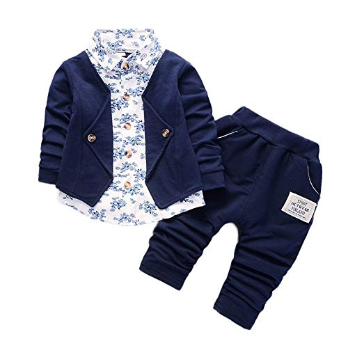 Boy Party Kostüm Mieten - Babykleidung Set,Beikoard Kind Baby Boy Gentry Kleidung Set Formelle Party Taufe Hochzeit Smoking Bow Suit Gefälschter Zweiteiliger Anzug
