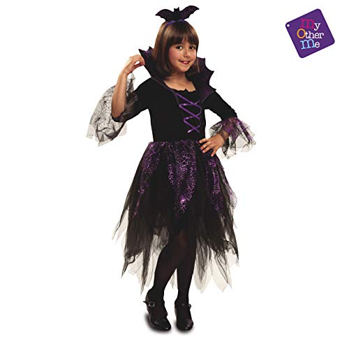 Kostüm Fee Fledermaus Kinder - Niña, de 7 a 9 años, Halloween