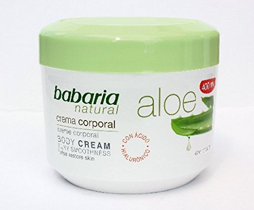 Babaria Naturals Aloe Vera Luxurious Body Cream 400ml