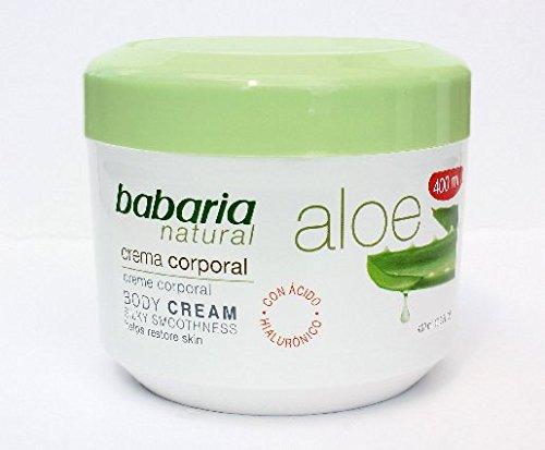 Babaria Naturals Aloe Vera Luxurious Body Cream 400ml