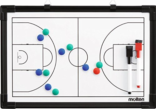 molten Taktikboard Basketball - 30,5 x 45 cm inkl. Magnete und Stifte