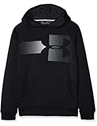 9b37bc28 Under Armour Boys' Rival Logo Hoody Warm-up Top