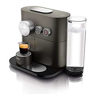 DeLonghi EN 350.G Nespresso Kaffeekapselmaschine (1,1 Liter, 1600 Watt, Bluetooth) anthracite grau