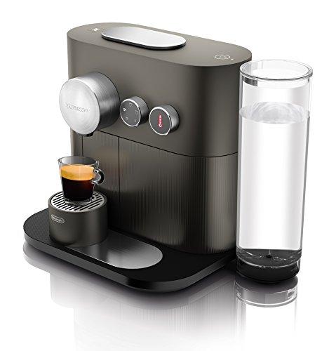 Nespresso DeLonghi Expert EN350G - Cafetera de cápsulas, color gris antracita