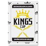 Kings Cup Party Trinkspiel - Das Original Saufspiel in der 2.0 Kartenspiel Partyspiel Edition mit 52 Karten Erweiterung