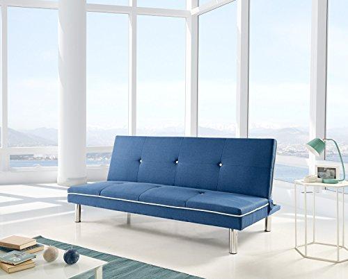 CHANCE FURNITURE Cambia Tus Muebles - Sofa Cama Sol Azul