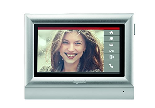 'Bticino – 7 Touch Screen Monitor Colour 332 453 Indoor Telephone for the Video Kit, 2 Threads