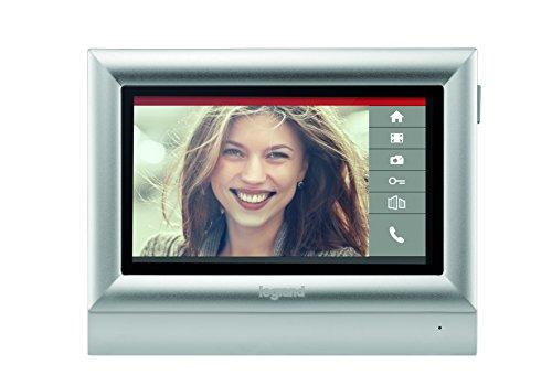 BTicino 332453 Monitor a Colori Touch Screen 7' Posto Interno per Kit Videocitofono, 2 Fili