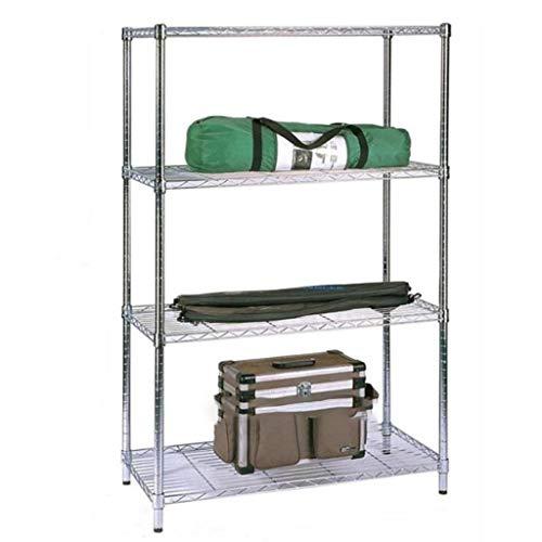 Shelf 4-Tier-Küchenregale, Gestell, Mikrowellengestell, Lagerregal für Hausküche Wohnzimmer Schlafzimmer Wäscherei Büro -