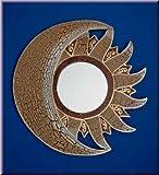 Sonne Mond Spiegel Antik Art