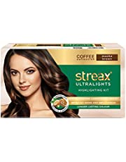 Streax Ultralights Highlighting Kit for Women & Men | Contains Walnut & Argan Oil | Shine On Conditioner | Longer Lasting Highlights | Coffee Collection - Mocha Brown | 120 ml