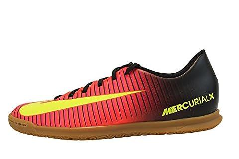 Nike Mercurialx Vortex Iii IC, Chaussures de Foot Homme, Orange-Naranja