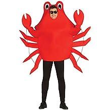 Guirca - Disfraz adulto cangrejo, Talla 52-54 (80798.0)