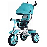 JYY Passeggino Pieghevole per Bambini in Miniatura 4 in 1 Trikes Passeggino per...