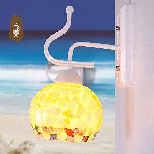 BTJC Lampada da comodino illuminazione ingresso sala balcone colore luce lampada bar caffè luce del bagno di luce , B