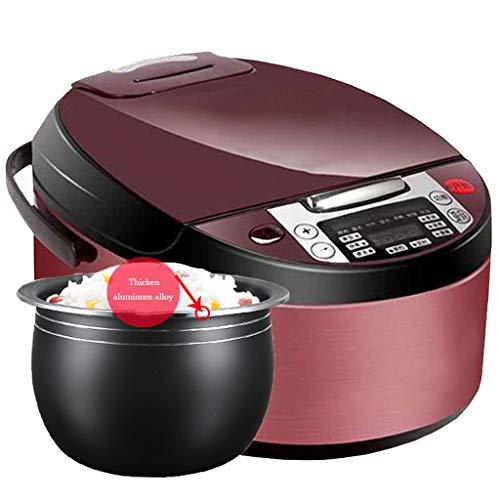 Mysida Hervidor de arroz 8 en 1 multifunción Inteligente para el hogar de 5 litros con operación de un Solo Toque, Olla Interna de Doble Capa (Color : Single Pot, Tamaño : 5L)