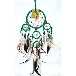 Attrape sueño de Atrapasueños Dreamcatcher Dream Catcher vientos verde trampa