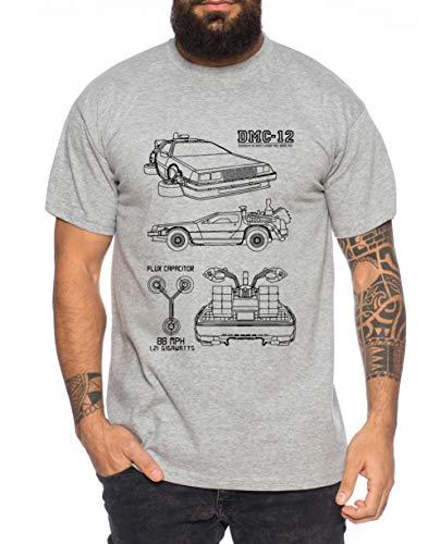 irt Cooles lustiges Fun Shirt, Farbe:Dunkelgrau Meliert, Größe:XL ()