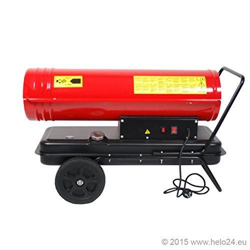 Diesel Heizkanone 30 KW Standard inkl. Tankanzeige
