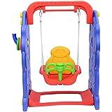Columpio Infantil 90x120x66cm Niños de 9 a 36 meses Carga Max 50Kg