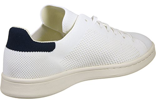 adidas Stan Smith OG Primeknit, Baskets Basses Homme BlancBleu
