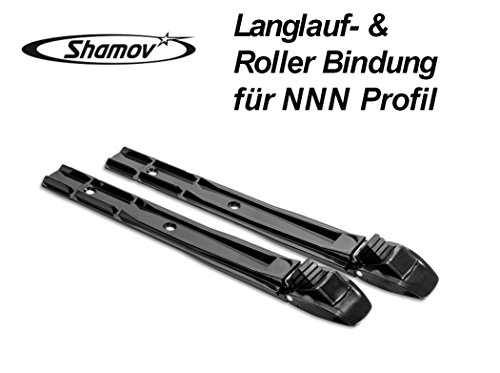 Shamov Skibindung Langlaufbindung Rollskibindung mit NNN Profil