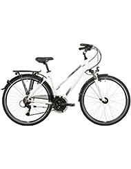 Vermont Brentwood - Bicicletas trekking Mujer - blanco Tamaño del cuadro 48 cm 2016