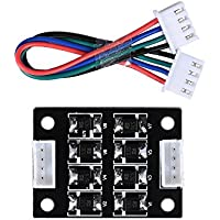 BIQU tl-smoother Kit Addon memoria para patrón eliminación Filtro de Motor Filtro de montaje sin tornillos 3d impresora controlador de controladores de Motor