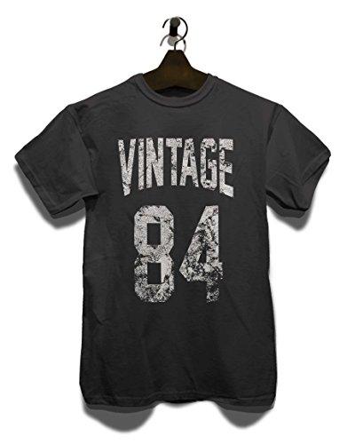Vintage 1984 T-Shirt Grau