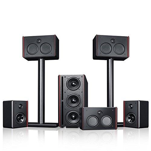 Teufel System 4 THX - 5.1-Lautsprecher-Set mit THX Compact Speaker System-Lizenz