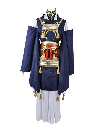 Touken Ranbu Mikazuki munechika Kimono copslay Kostüm jeder Größe, Collegejacke, - Mikazuki Munechika Kostüm