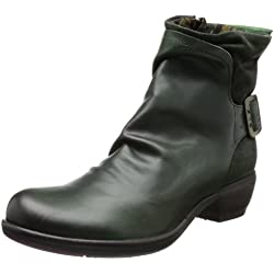 Fly London Mel Botas camperas Mujer, Verde (Grün / Geen 005), 37 EU (4 UK)