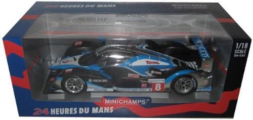 Minichamps - 150091208 - Véhicule Miniature - Peugeot 908 HDI Fap - Le Femmes 2009 - Echelle 1:18 | Sortie
