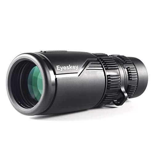 Telescopio Monocular 8-24 * 42,Eyeskey Zoom Monocular con Adaptador de Teléfono HD Telescopio Compacto Impermeable y Antivaho de Largo Alcance para Observación de Aves,Caza,Camping, Senderismo