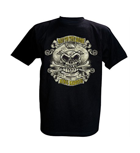 King Kerosin T-Shirt Bad to the Bone Schwarz