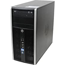 HP Compaq 6200 Pro  Desktop PC (Intel Core i5-2400, 4 GB RAM,, 320 GB HDD, Intel HD Graphics, Windows 10 Home) (Ricondizionato Certificato)