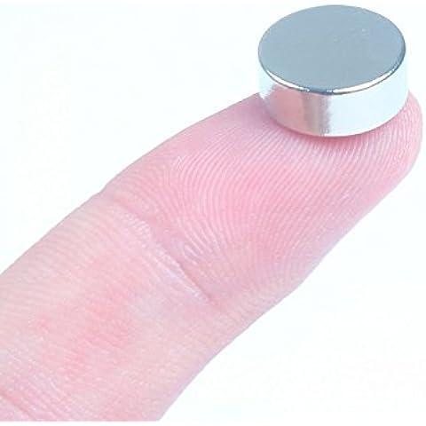 4 tipos redondo de diámetro 12 mm N52 fuerte de tierras raras de neodimio Imanes: imán de frigorífico, Pizarra Imanes, Imanes para manualidades (puede elegir cualquier tipo de modelo se adquiere por separado) (10pcs,