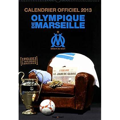 Calendrier mural officiel Olympique de Marseille 2013