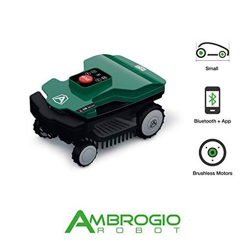 Ambrogio Robot AM015D0F9Z Rasaerba Zucchetti Ambrogio L15 Deluxe, fino a 600 m²