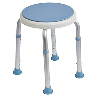 Aidapt Bath Stool with Rotating Seat (Eligible for VAT relief in the UK)