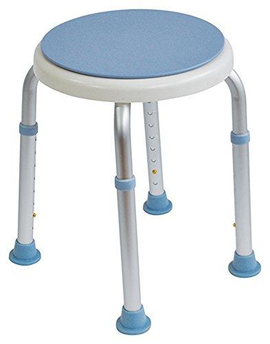 Aidapt-Taburete baño asiento giratorio IVA Reino
