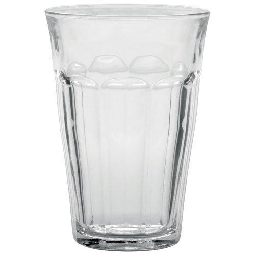 Duralex Picardie verre à eau 360ml, sans repère de remplissage, 6 verres