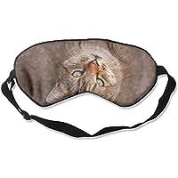Eye Mask Eyeshade Cat Look Up Sleep Mask Blindfold Eyepatch Adjustable Head Strap preisvergleich bei billige-tabletten.eu