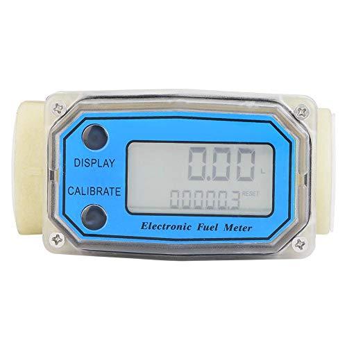 Durchflussmesser, Mini digitaler Durchflussmesser mit LCD-Anzeige, für Turbine, Diesel, Harnstoff, Kerosin, Benzin usw,LLW-25PP,hohe Genauigkeit,15-120L / min 1