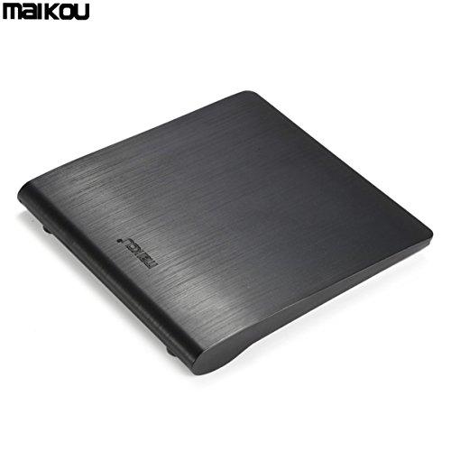 Maikou USB 3.0 Optisches Laufwerk CD DVD-ROM-Player Externer DVD-RW Brenner Brenner Recorder Superdrive Für Laptop PC
