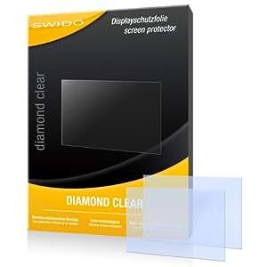 """2 x SWIDO® Displayschutzfolie Sony Alpha 58 Schutzfolie Folie """"DiamondClear"""" unsichtbar"""