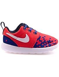 Nike Roshe One Print (TDV) unisex bambino, tela, sneaker bassa